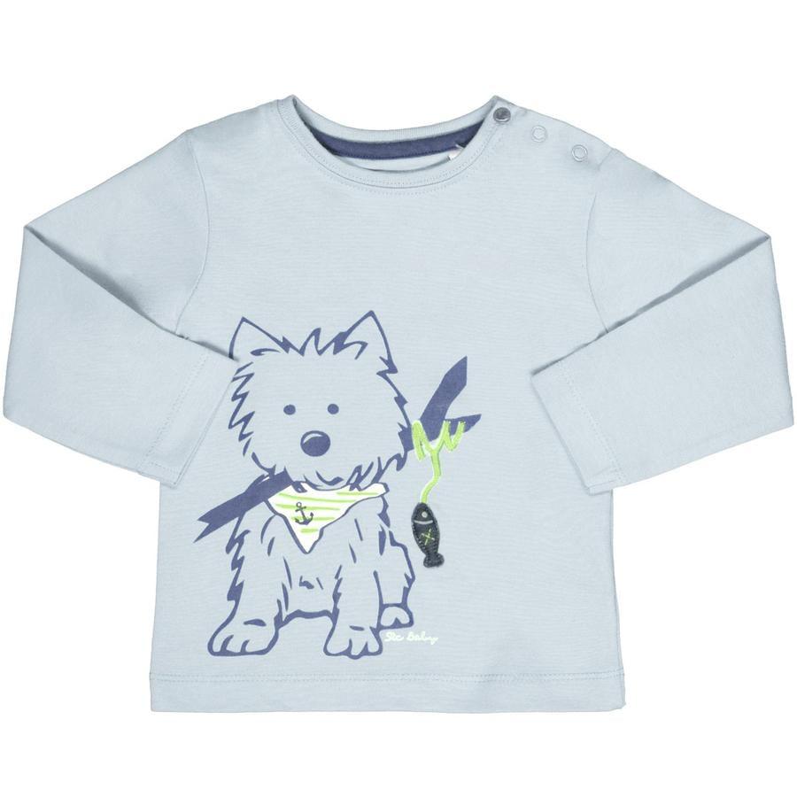 STACCATO Boys Langarmshirt Hund blau