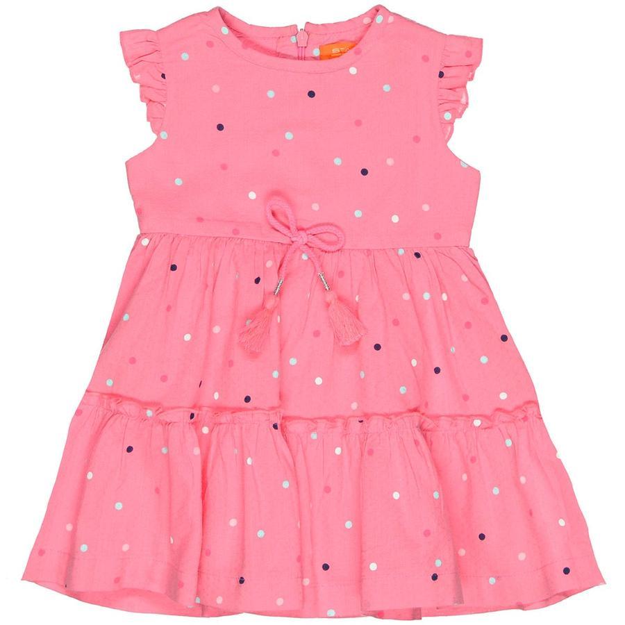 STACCATO Girls Kleid Tupfen pink