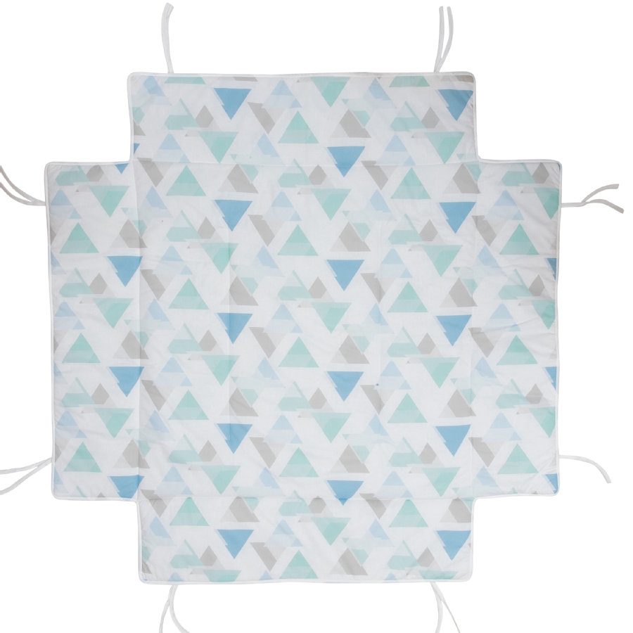 Geuther Materassino con paracolpi per box 97 x 97 cm Prisma