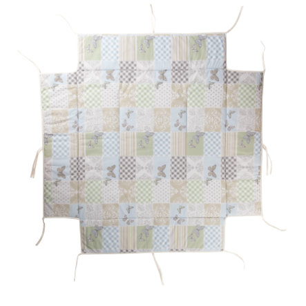 GEUTHER Boxkleed passend voor box 97 x 97 cm 104 Patchwork