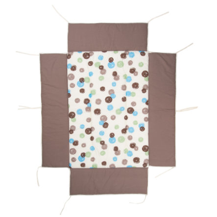 Geuther Boxkleed passend voor box  76 x 97 cm 107 Dots