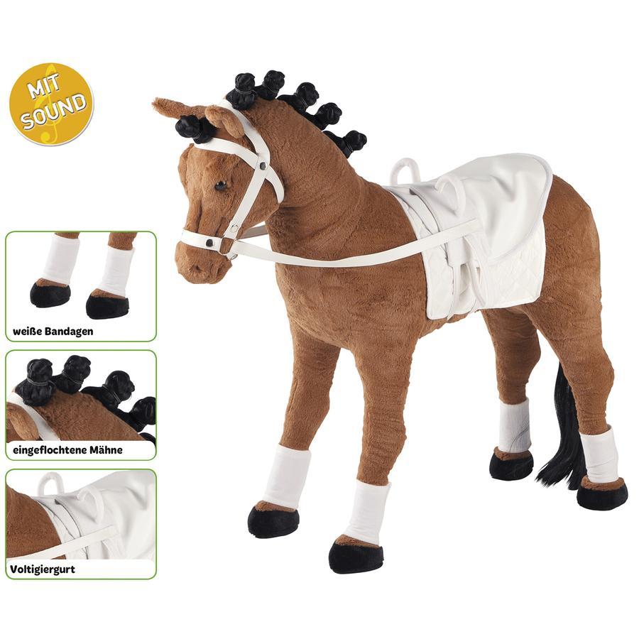 HAPPY PEOPLE Cavallo volteggio con Suono