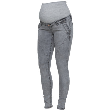 mama licious Umstandsjeans MLHOLLY Light Grey Denim
