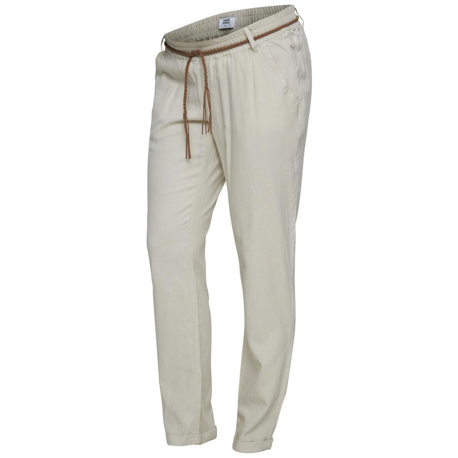 mama licious Pantalones de maternidad MLBEACH Sandshell