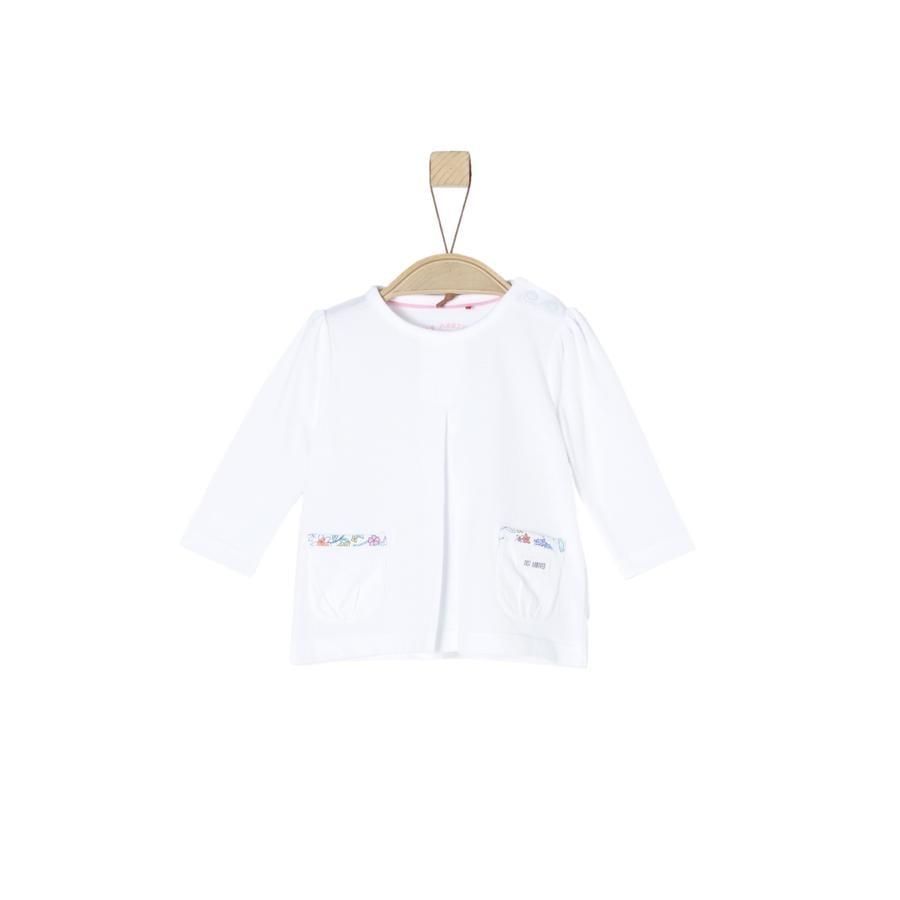 s.Oliver Girl camicia manica lunga s bianca