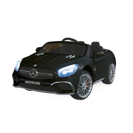 JAMARA Bambini Ride-on - Mercedes SL65 schwa rz 12V