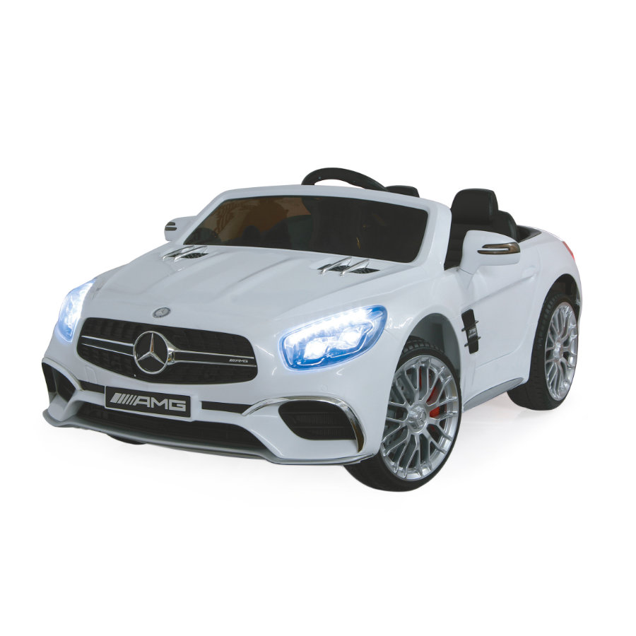 JAMARA Kids Jeździk Ride-on - Mercedes  SL65 rwhite 12V