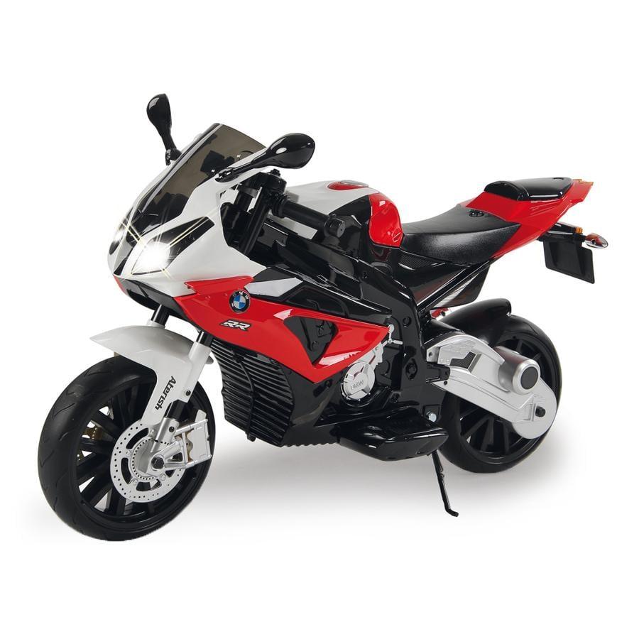 JAMARA Moto électrique enfant Ride-on moto BMW S1000RR rouge