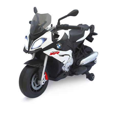 JAMARA Kids Ride-on - Motorcykel BMW S1000XR vit 6V