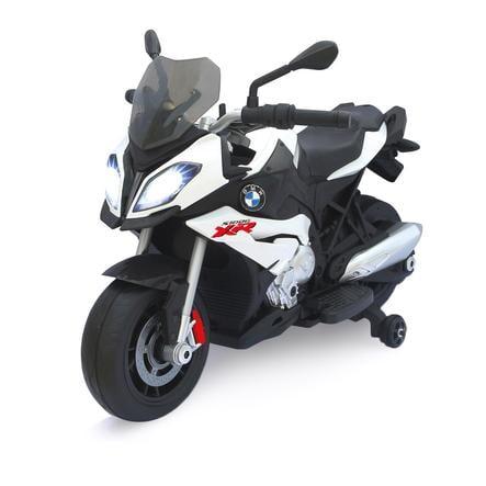 JAMARA Véhicule enfant Ride-on moto BMW S1000XR blanc