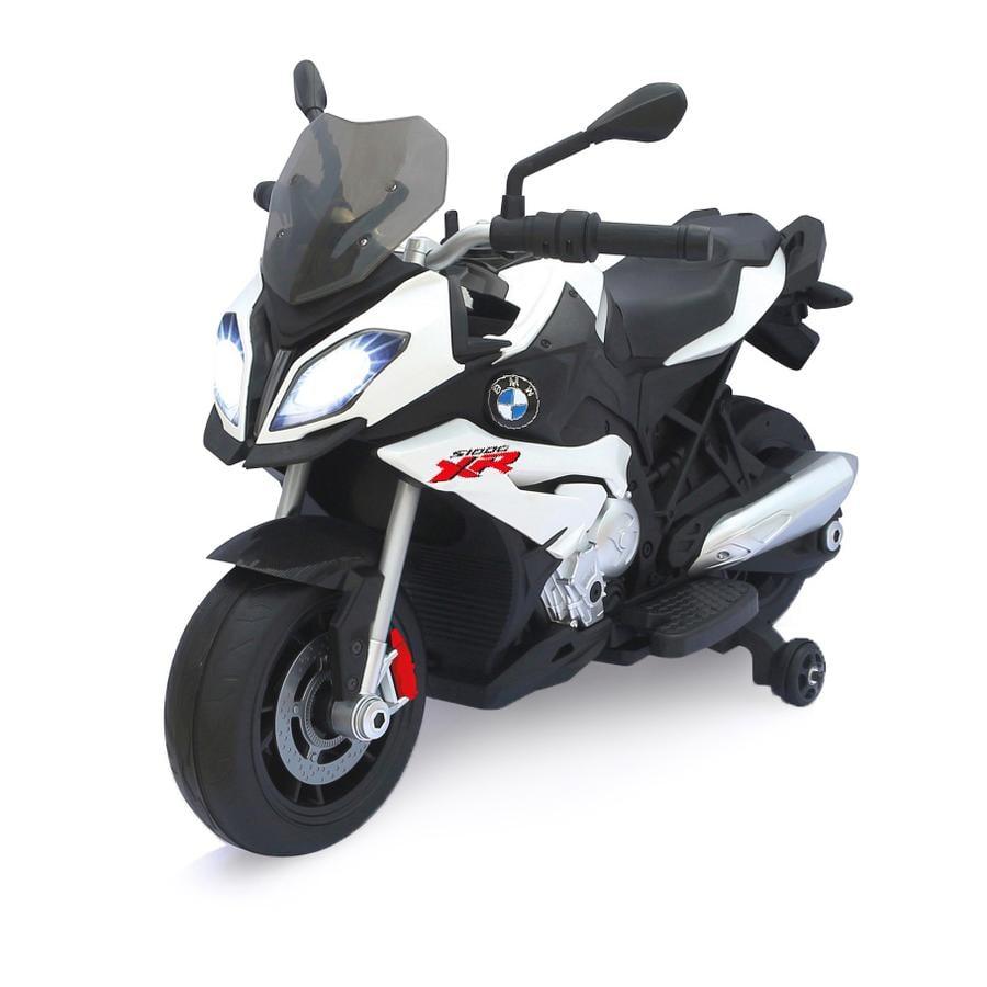 JAMARA Kids Ride-on - Moto BMW S1000XR bianca 6V