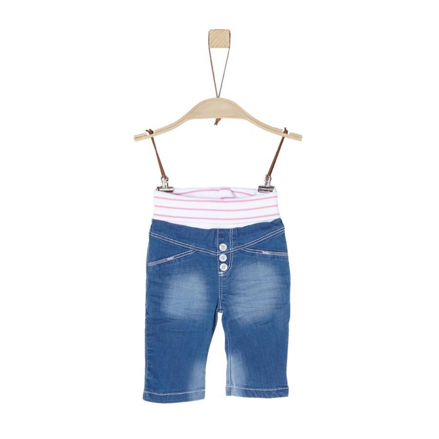 s. Oliver tyttöjen Jean housut sininen denim