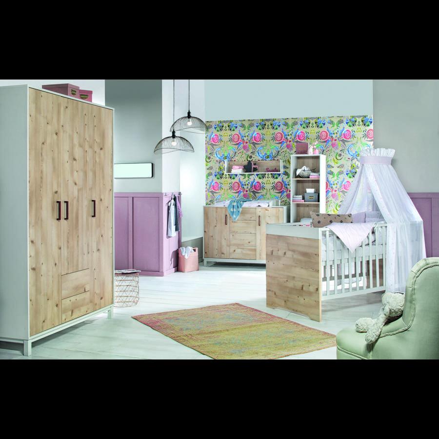 schardt chambre enfant timber pin, armoire 3 portes   roseoubleu.fr
