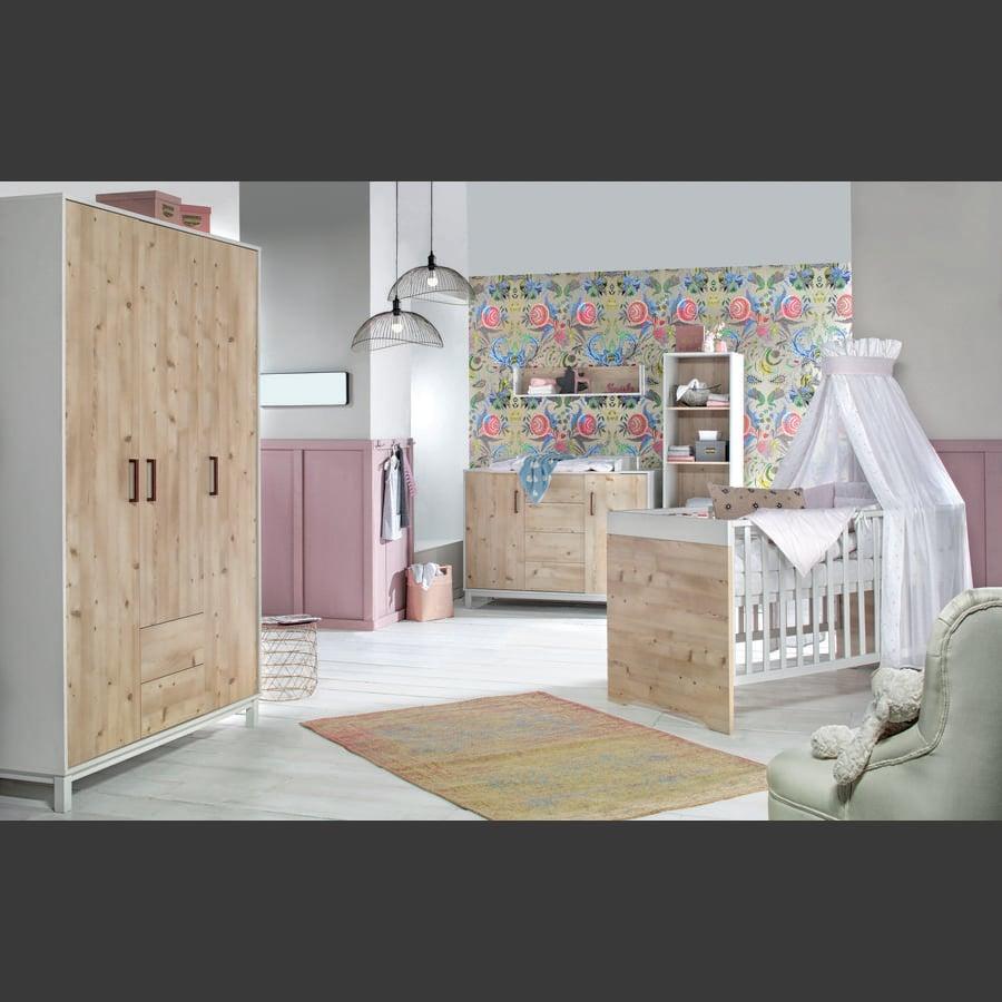 Schardt-kinderkamer 3 Timber Pinie deuren