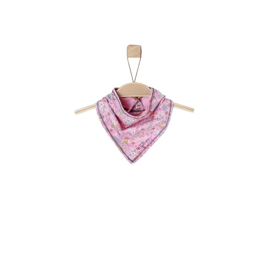 s.Oliver Girl s driehoekige sjaal lichtroze
