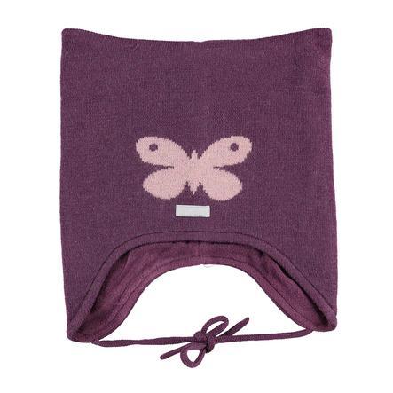 name it Girl Bouchon dentelé papillon prune violet