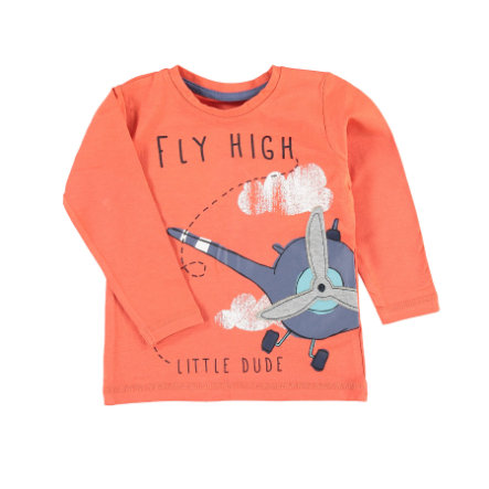 name it Boys Chemise manches longues Nmmgip paprika