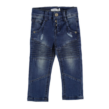 name it Boys Jeans Nmmtheo średnio-niebieski denim.