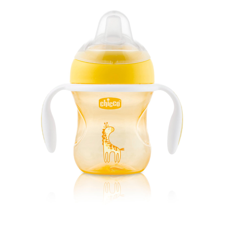 chicco Tazza Transition gialla 4M+ 200 ml