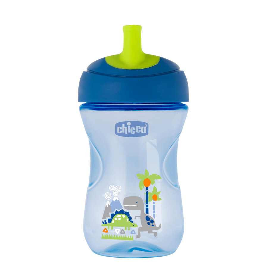 chicco Trinklernbecher Advanced blau 12M+