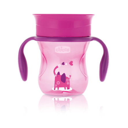chicco Trinklernbecher Perfect pink 12M+