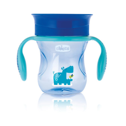 chicco Trinklernbecher Perfect blau 12M+