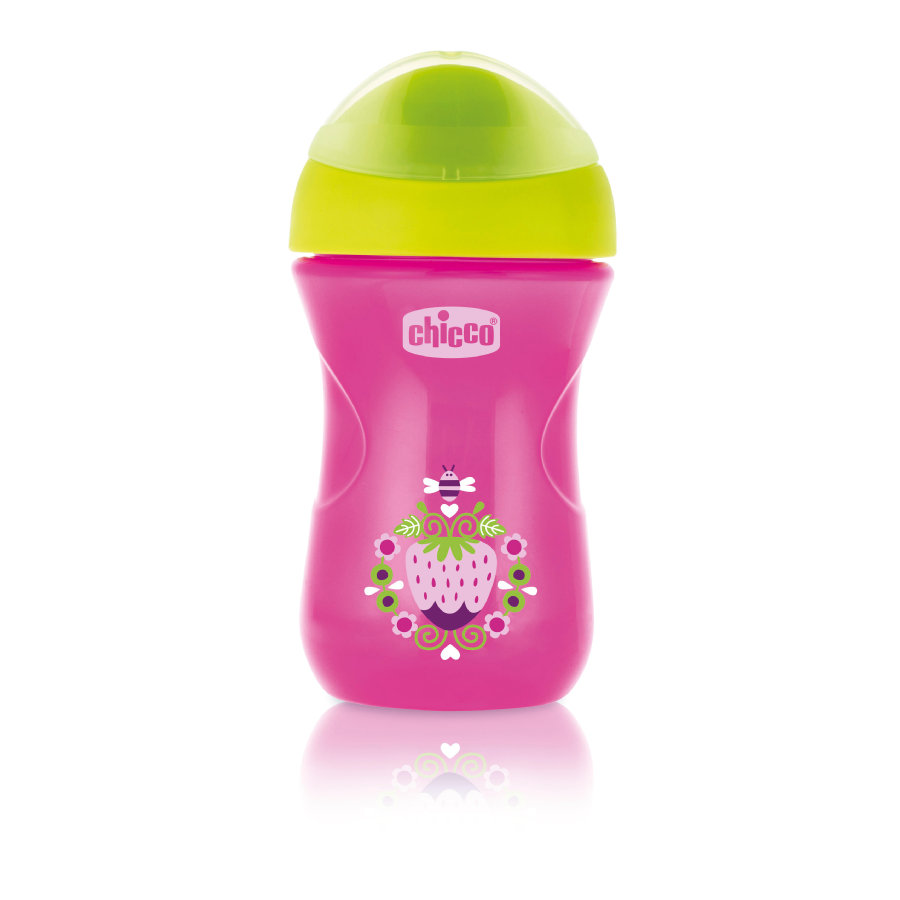 chicco Trinkbecher Easy pink 12M+