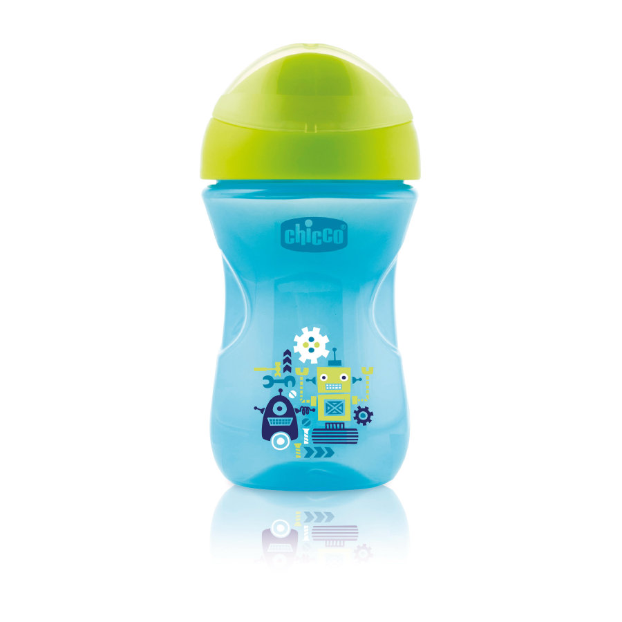 chicco Drinkbeker Easy blauw 12M+
