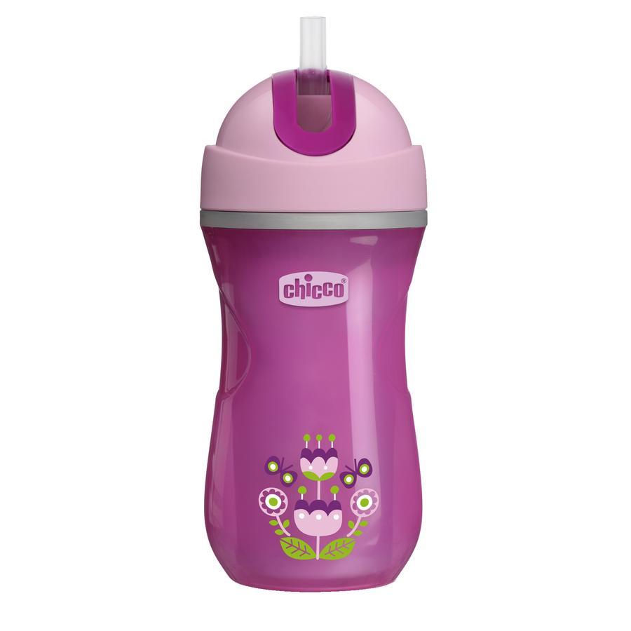 chicco Trinkbecher Sport pink 14M+