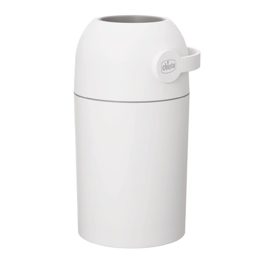 chicco Papelera para pañales elimina olores blanco