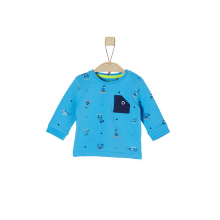 s.Oliver Boys Chemise manches longues turquoise