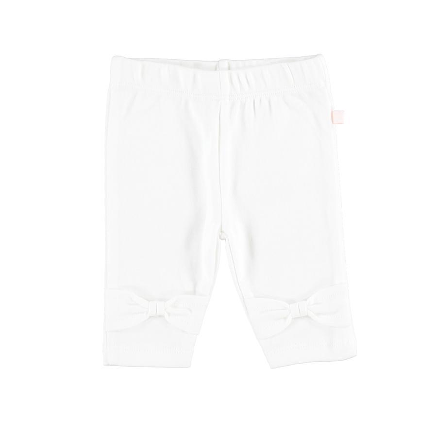 STACCATO Girl S Leggings con fiocco bianco