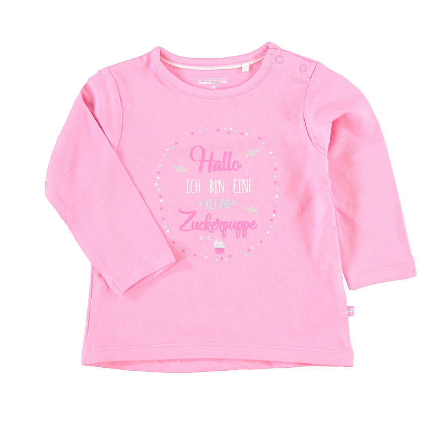 STACCATO Girls Langarmshirt candy