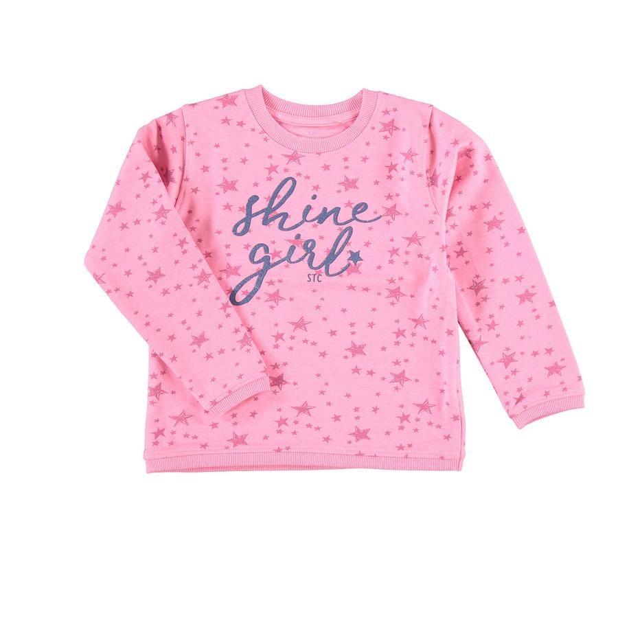 STACCATO Girl s Sweat-shirt rose à motifs