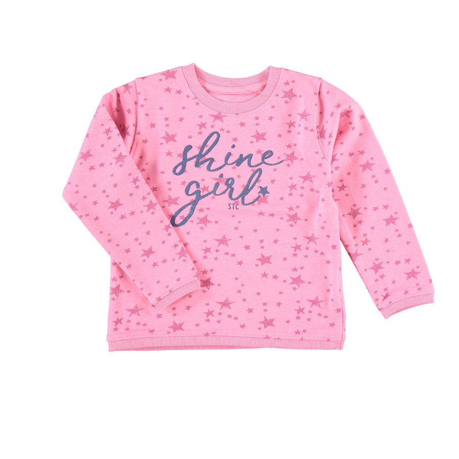 STACCATO Girls Sweatshirt pink gemustert