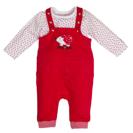 SALT AND PEPPER Latzhose Dungarees cherry red