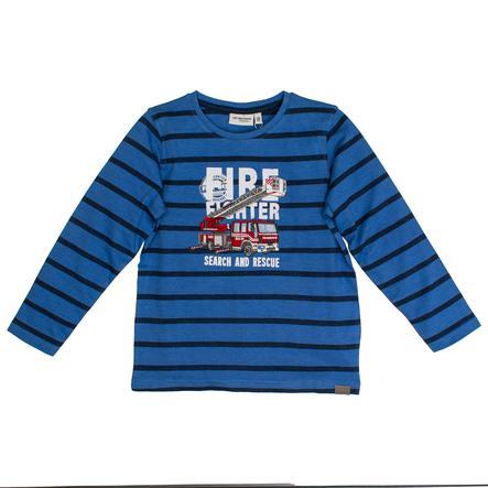 SALT AND PEPPER Camisa Girl de manga larga s Rayas de fuego azul mélange