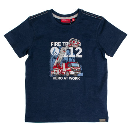 SALT AND PEPPER T-Shirt Fire uni Stick ink blue
