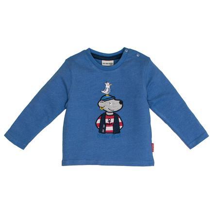 SALT AND PEPPER Pitkähihainen paita Pirate uni print sininen melange