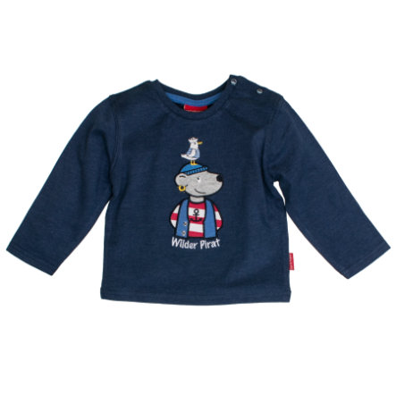 SALT AND PEPPER Langarmshirt Boys Pirat uni ink blue melange