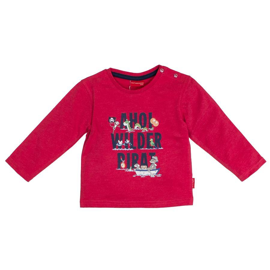 SALT AND PEPPER Shirt met lange mouwen Ahoi rood