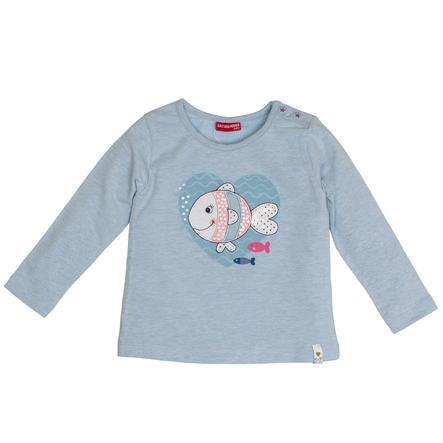 SALT AND PEPPER Overhemd met lange mouwen vispastel blauw