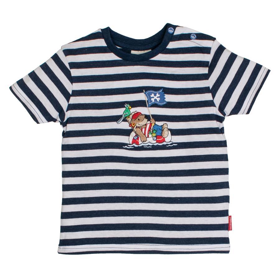 SALT AND PEPPER Boys T-Shirt Strisce pirata blu melange melange