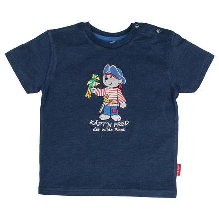 SALT AND PEPPER T-Shirt Pirat uni Käpt'n ink blue melange