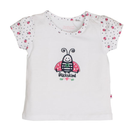 SALT AND PEPPER T-Shirt Fortuna uni scarabeo bianco