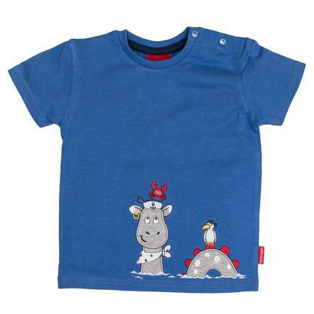 SALT AND PEPPER T-Shirt Pirat uni Käpt'n blue melange