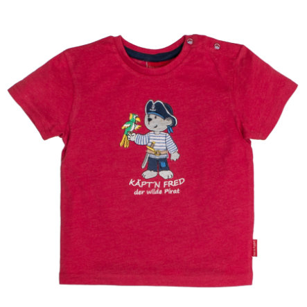 SALT AND PEPPER Boys T-Shirt Capitaine Fred Red