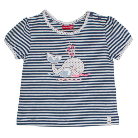 SALT AND PEPPER T-Shirt Summer stripe cornflower blue