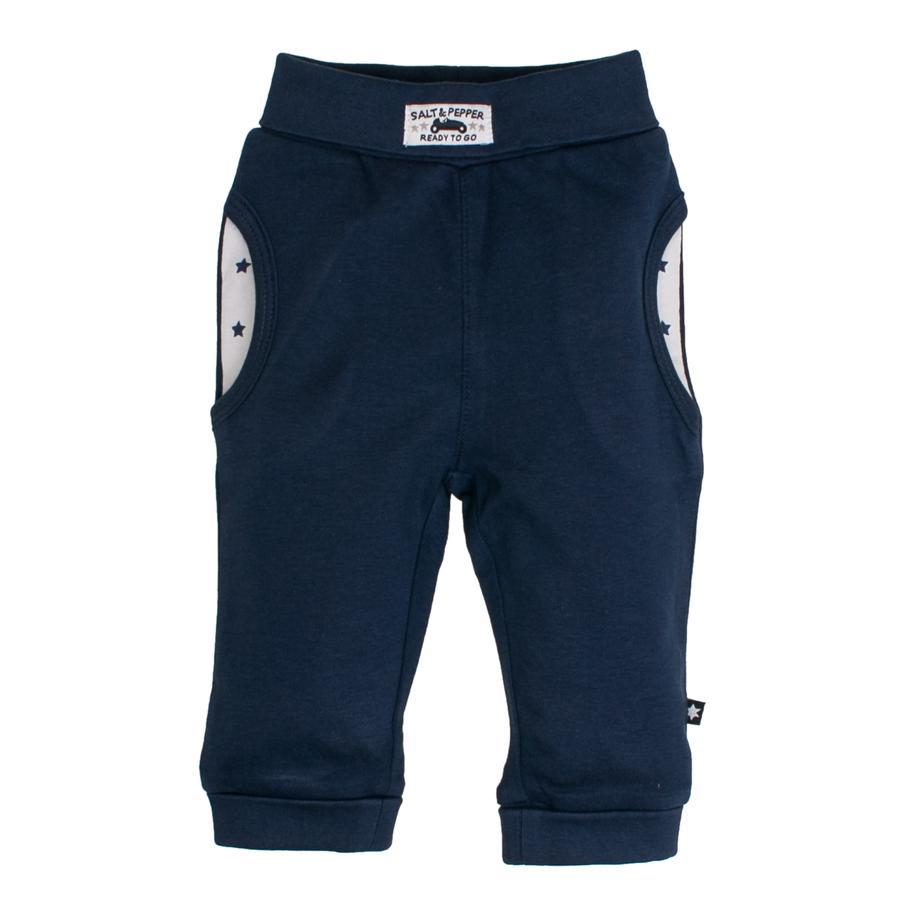 SALT AND PEPPER Pantalones de chándal Ready uni azul marino