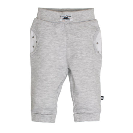 SALT AND PEPPER Jogginghose Ready uni light grey melange